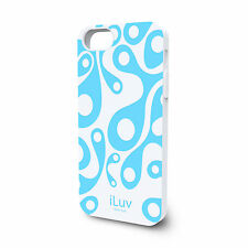 iLuv AURORA ICA7T309 Soft silicon protective case with glow-in-dark pattern, NEW