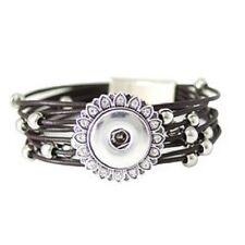Bracelet Magnolia Vine Jewelry 18mm Fits Ginger Snaps Snap Brown Magnetic