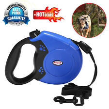 Max 50KG Large Dog Lead Leash Strong Retractable Extendable Lockable Tape 8M UK