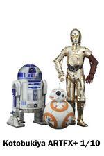 KOTOBUKIYA / STAR WARS C-3PO, R2-D2 & BB-8  3-PACK ARTFX+ STATUE / 1:10