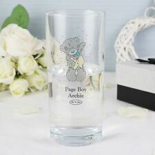 Me to You Personalised Colour Hi Ball Glass Male Usher Best Man Flower Boy Gift