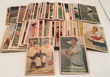 1957 Topps Starter Set Low Grade Williams, Mantle/Berra, Snider (117 cards)