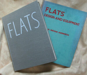 Architectural titles from 1936-8 on Flats, Ashworth: Flats, Design & Equipment