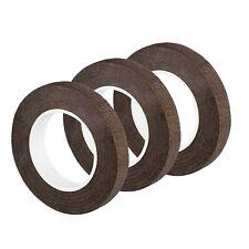 eBoot 3 Pack Floral Tape Stem Wrap 1/2 Inch x 30 Yards (Dark Brown) Dark Brown
