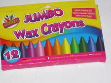 Artbox 12 jumbo size wax crayons set of 12 assorted colours 5073