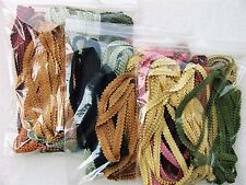 FIRST QUALITY Grab Bag of French Style Gimp Trims in a Mixed Color Assortment
