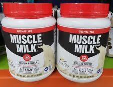 2-PACK Muscle Milk Protein Powder, 3.86 Lbs. (31 oz. Each), Chocolate or Vanilla