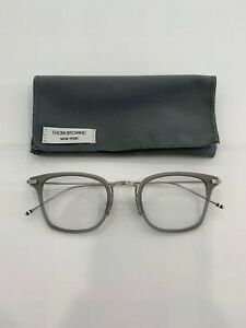 THOM BROWNE Eyewear Model TBS-905 colour 03 GRY-SLV. Made in Japan. NEW