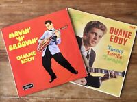 Duane Eddy ~ Movie' 'N' Groovin' / Twenty Terrific Twangies ~ 2 x Vinyl Job Lot