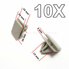 10X Rocker Panel Moulding Clips Retainer for GM