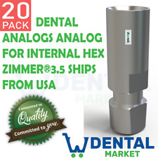 X 20 Implant Analog Regular Platform internal hex implant replica USA 2.42