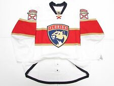 FLORIDA PANTHERS AUTHENTIC AWAY TEAM ISSUED REEBOK EDGE 2.0 7287 JERSEY SIZE 58