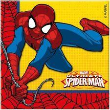 Tutto multicolore per la tavola per feste e party a tema Spider-Man