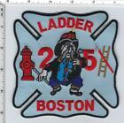 Boston Fire Department (Massachusetts) Ladder 25Shoulder Patch