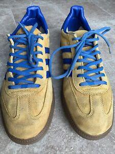 Adidas Q23097 Handball SPEZIAL Sun Shine/Trublue/metal Gold Men's Size 10