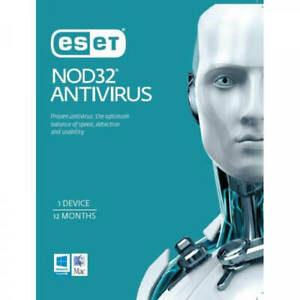 ESET NOD32 Antivirus 1 Device 1 Year ESD Key