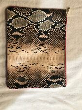 Snakeskin Pattern Estee Lauder Make Up Pouch Bag