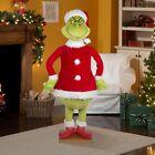 ✅ Life Size Animated Grinch 5.74 Ft Christmas Santa New Free Same Day Shipping