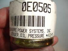 SAVE  Generac Guardian Generator Sender Oil Pressure #412-M Factory 0E0505 OEM