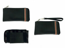 New Zoppini Black Leather Clutch Bag S1092 PCU05