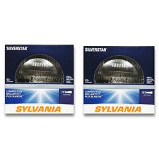 Sylvania SilverStar - Two 1 Packs - H6024ST Light Bulb Fog Daytime Running hp