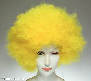 Wig Afro Style Synthetic Hair Colorful Clown Character Costume Wig