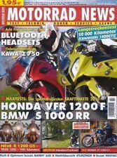 MN1002 + HONDA VT 1300 CX + MAXI-Test HONDA VFR 1200 F + MOTORRAD NEWS 2 2010