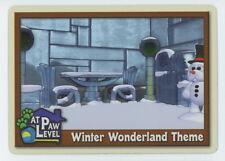 Webkinz At Paw Level Insert Card - Winter Wonderland Theme