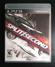 Split/Second (PlayStation 3, PS3, 2010) Complete W/ Manual, Mint Disc, Tested