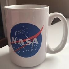 Best Coffee Mug NASA Emblem American Novelty Cup Great Gift Idea Space
