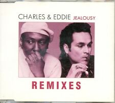 CHARLES & EDDIE - Jealousy REMIXES 5TR CDM 1995 HOUSE