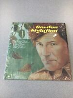 Gordon Lightfoot For The First Time Ever I Saw Your Face Vinyl Lp in Shrink ster