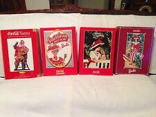 Coca Cola Barbie Set Lot of 4 Fashion Classic ~ Santa Doll