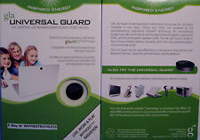 2 PK UNIVERSAL GUARD CHIPS FOR , EMF RADIATION PROTECTION,COMPUTER GIA WELLNESS