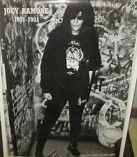JOEY RAMONE RAMONES VINTAGE RARE NEW SEALED POSTER 2001 ROCK  METAL