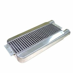 """23x11x3 Turbo Intercooler Same Side 2.5"""" Inlet&Outlet"""