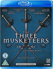 THE THREE MUSKETEERS NEW REGION B BLU-RAY