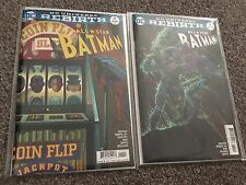 DC COMICS ALL STAR BATMAN #4 #5 JANUARY 2017 REBIRTH 1ST PRINT