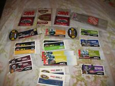 Lot of (16) NASCAR TICKETS ~Plus parking pass 2005, 2006, 2007 ~See pictures