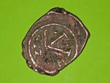 New listing Justin Ii 565 Ad ancient Byzantine Coin half follis Queen Sophia Thessalonica Vg