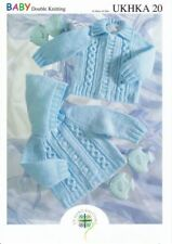 ukhka Tricot modèle DK Numéro 20 bébé/enfant cardigans