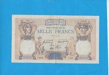 1000 Francs Cérès et Mercure du 30-03-1939 Alphabet A.6532