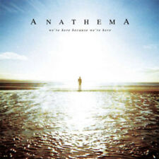 Anathema : We're Here Because We're Here CD with Book 2 discs (2013) ***NEW***