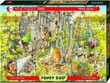 Heye 1000 Piece Jigsaw Puzzle - Funky Zoo: Jurassic Habitat