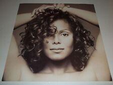 Rare Vintage Original~ 1993 Janet Jackson ~Face / Head ~ Promo Album Flat Poster