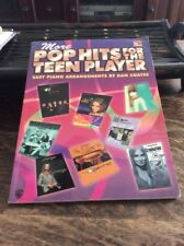 POP HITS FOR THE TEEN PLAYER  by DAN COATES EASY PIANO & VOCAL
