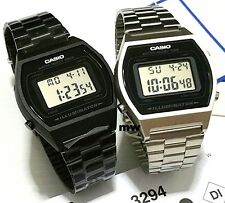 Casio Couples Pair Unisex Watch QUARTZ Vintage Retro Digital OLD SKOOL B640WB/WD