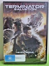 DVD TERMINATOR SALVATION The End Begins - C Bale & Sam Worthington BRAND NEW M