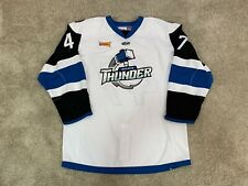 Wichita Thunder Game Worn Used Issued AK ECHL Jersey Oilers