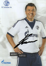 Autographe-MERIC Yavuz (SCHALKE 04 tradition équipe)